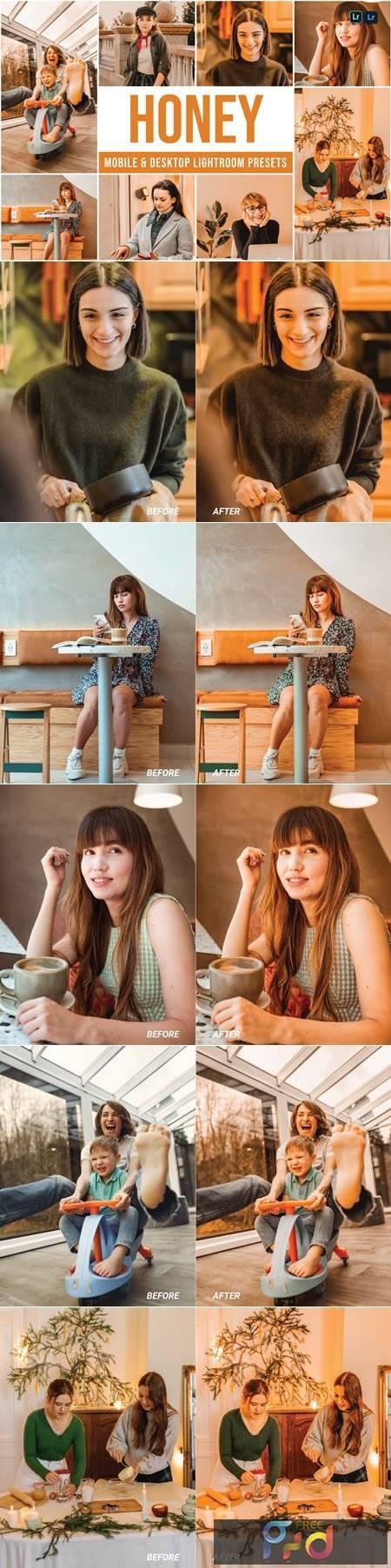 Honey Mobile and Desktop Lightroom Presets PFG5GK9 1