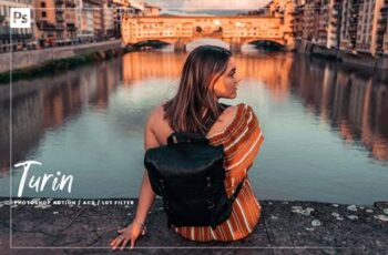 08 Turin Photoshop Action, ACR LUT 5981128 5