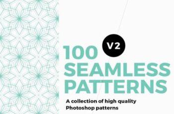 100 Seamless Photoshop Patterns 11712041 2
