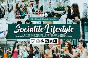 Socialite Lifestyle Lightroom Preset 5157445 6