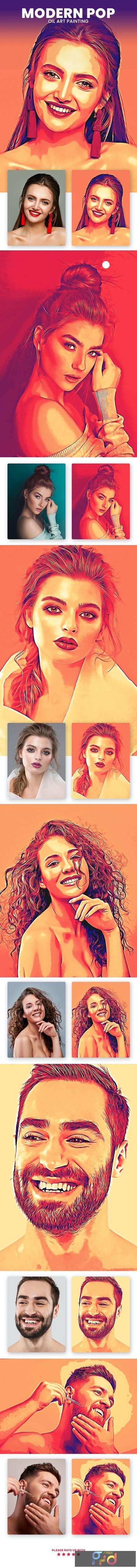 Modern Pop Oil Art Painting 30496322 1