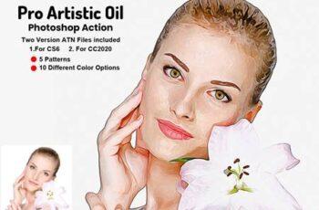 Pro Artistic Oil Photoshop Action 5733546 6