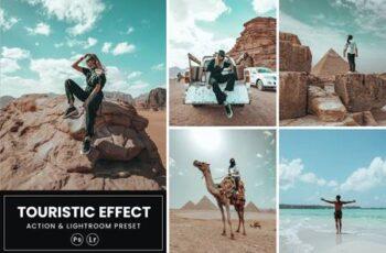 Touristic Effect Action & Lightrom Preset ZDHXWB7 3