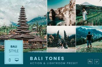 Bali Tones Action & Lightroom Preset QXXNL5G 7