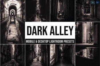 Dark Alley Mobile and Desktop Lightroom Presets RRVRYZX 7