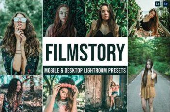 Filmstory Mobile and Desktop Lightroom Presets 3EHCNRC 7