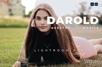Darold Desktop and Mobile Lightroom Preset F5ZA9YA 3
