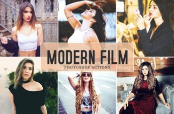 Modern Film Photoshop Actions MBLLJ7F 8