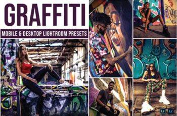 Graffiti Mobile and Desktop Lightroom Presets 75MNJCM 3