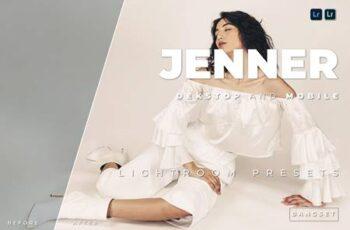 Jenner Desktop and Mobile Lightroom Preset J7LZCGU 5