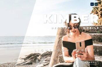 Kimber Desktop and Mobile Lightroom Preset B4GADBA 4