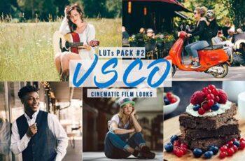 VSCO Cinematic LUTs - Film Look for Video Creators Z74XASQ 7