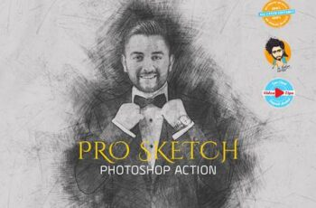 PRO SKETCH Photoshop Actions 6126837 1