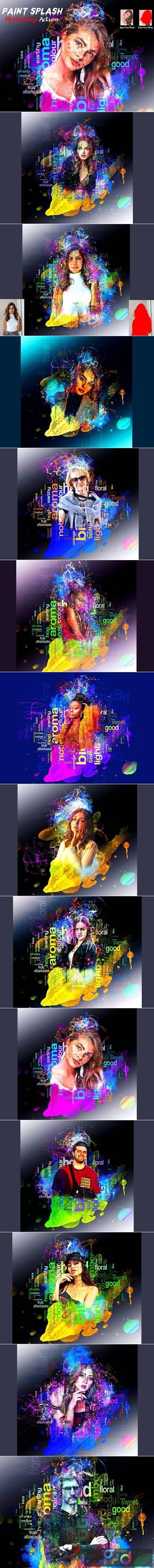Paint Splash Photoshop Action 5966298 1