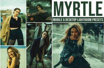 Myrtle Mobile and Desktop Lightroom Presets YPP4EZH 4