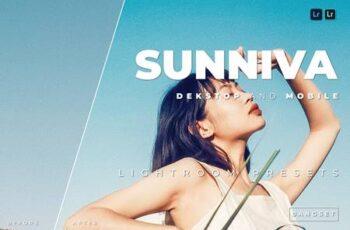 Sunniva Desktop and Mobile Lightroom Preset FFATSZK 7
