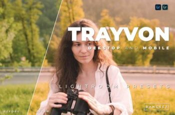 Trayvon Desktop and Mobile Lightroom Preset B3QJHZX 3