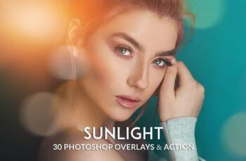Realistic Sunlight Overlay Photoshop Action RTCFYJF 7