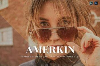Amerkin Mobile and Desktop Lightroom Presets 9366UY7 7