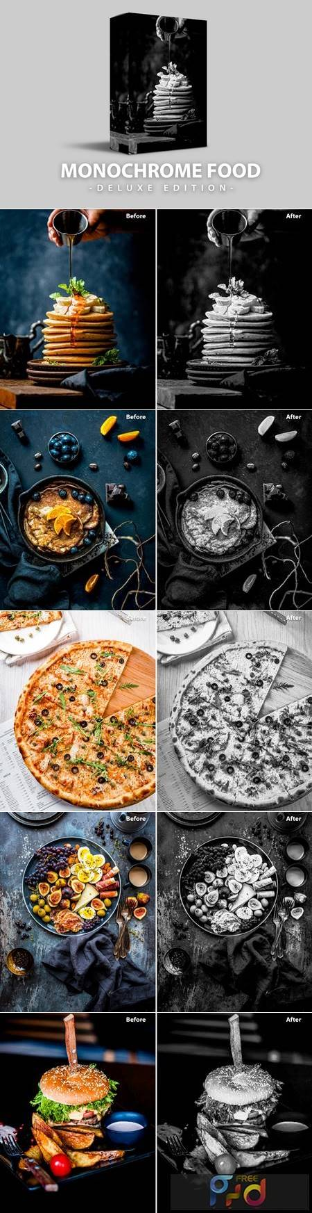 Monochrome Food - Deluxe Edition for Mobile and PC 7S9JSXK 1