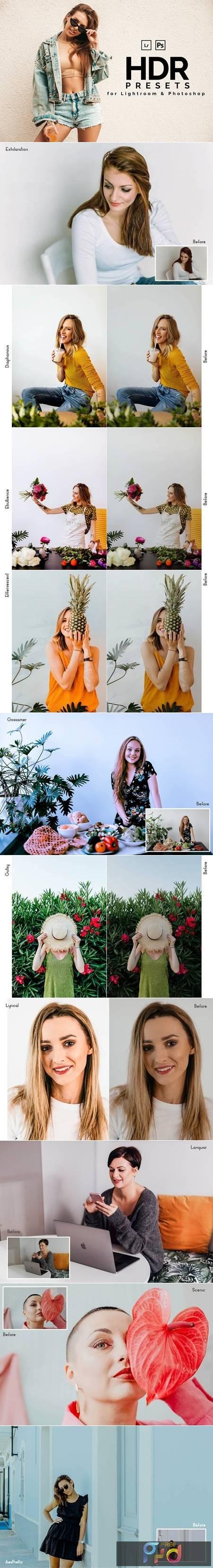 HDR Lightroom & Photoshop Presets 6133811 1