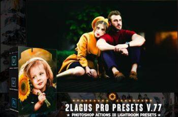 PRO Presets - V 77 - Photoshop & Lightroom 6QM87EU 7