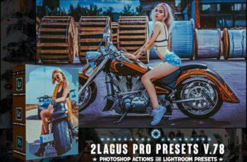 PRO Presets - V 78 - Photoshop & Lightroom BGJBBC3 8