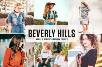 Beverly Hills Mobile & Desktop Lightroom Presets QRKM29X 6