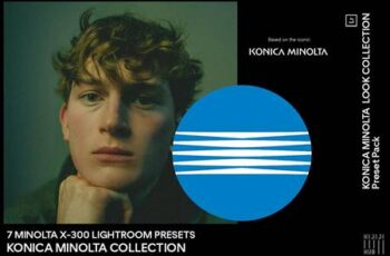 7 MINOLTA X-300 Film Look 6073755 8