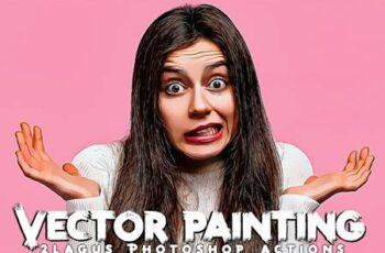 Vector Painting Photoshop Actions QASDRG5 4