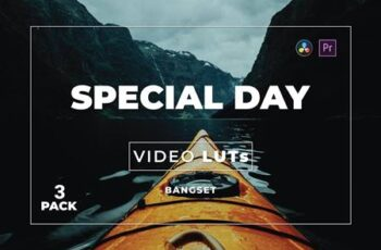 Bangset Special Day Pack 3 Video LUTs MU5J399 7