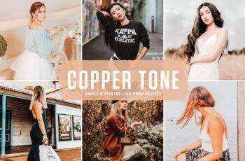 Copper Tone Mobile & Desktop Lightroom Presets 6235003 7