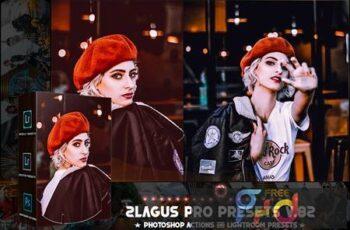 PRO Presets - V 82 - Photoshop & Lightroom VXWJTP8 7