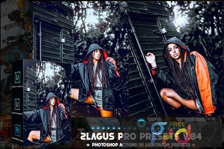 PRO Presets - V 84 - Photoshop & Lightroom 5E7XD83 1