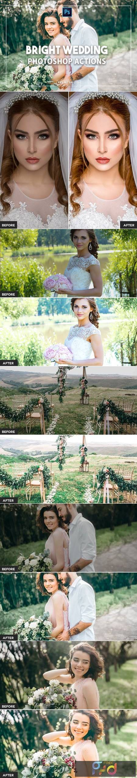 Best seller, bright and airy, engagement presets UXEXJHW 1