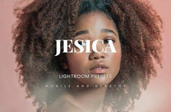 Jesica Lightroom Presets Dekstop and Mobile FJFYQJJ 3