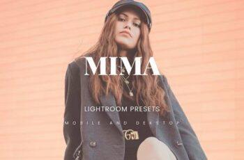 Mima Lightroom Presets Dekstop and Mobile BF5W3LN 3