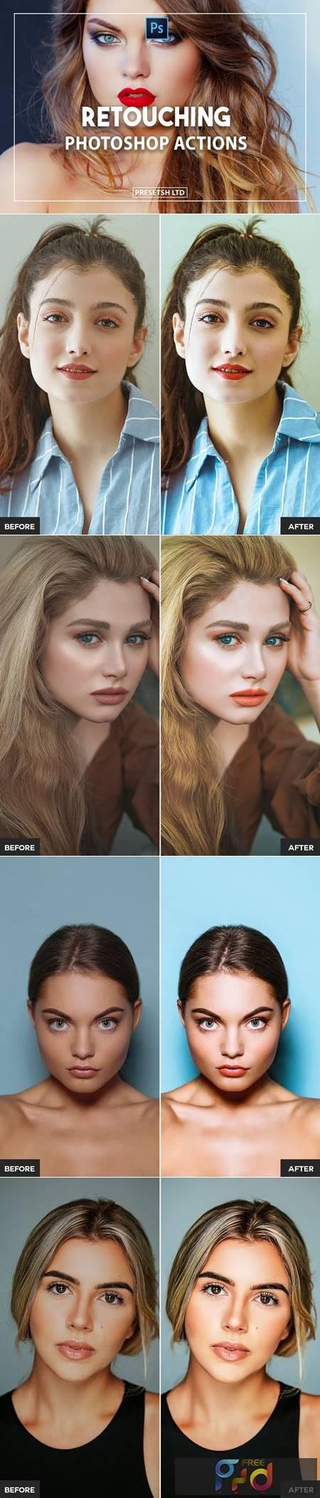 Retouching Photoshop Actions NAGPNYV 1