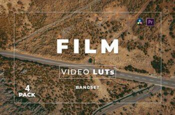 Bangset Film Pack 4 Video LUTs TVSBENW 2