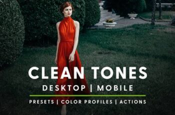 Clean Tones - Actions & Presets 6046970 6