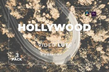 Bangset Hollywood Pack 3 Video LUTs L24P44A 4