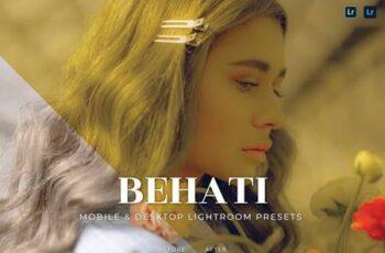 Behati Mobile and Desktop Lightroom Presets PVLH866 2