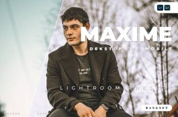 Maxime Desktop and Mobile Lightroom Preset 63HBFLF 7