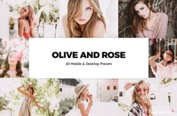 20 Olive and Rose Lightroom Presets & LUTs 6237746 5