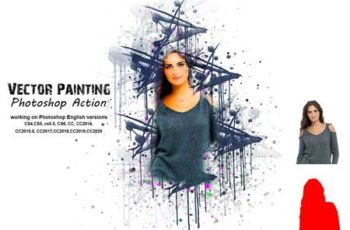 Vector Painting Photoshop Action 5277309 6