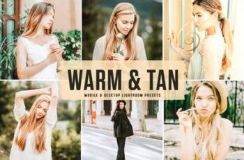 Warm & Tan Mobile & Desktop Lightroom Presets ZTBETQP 4