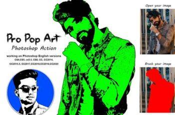 Pro Pop Art Photoshop Action 5345435 4