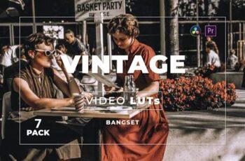 Bangset Vintage Pack 7 Video LUTs CNGMJ2M 6