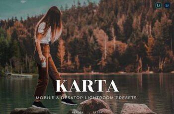 Karta Mobile and Desktop Lightroom Presets 8GJQT7Q 6