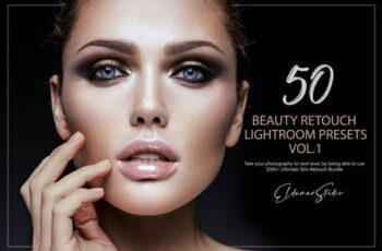 50 Beauty Retouch Lightroom Presets - Vol. 1 YQ4V97A 5